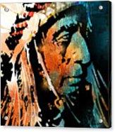 The Chief Acrylic Print by Paul Sachtleben