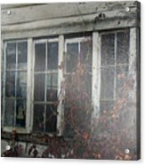 The Child At The Window Acrylic Print