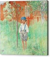 The Child Acrylic Print