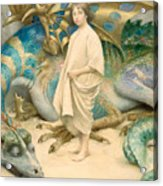The Child In The World Acrylic Print by Thomas Cooper Gotch