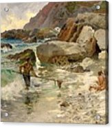 The Children Of The Sea - Capri Acrylic Print