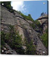 The Chimney At Chimney Rock State Park Nc Acrylic Print