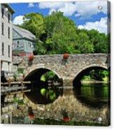 The Choate Bridge Acrylic Print