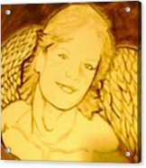 The Christmas Angel Acrylic Print