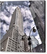 The Chrysler Building In Nyc Usa Acrylic Print