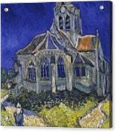 The Church At Auvers Acrylic Print