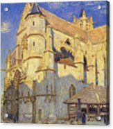 The Church At Moret Acrylic Print