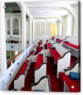 The Church Balcony Acrylic Print