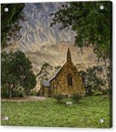 The Church Acrylic Print