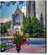 The Church In Summer Acrylic Print