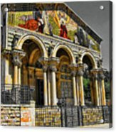 The Church Of All Nations Acrylic Print