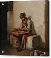The Cimbalom Player Acrylic Print