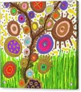 The Circle Tree Acrylic Print
