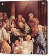 The Circumcision Of The Child Jesus 1640 Acrylic Print