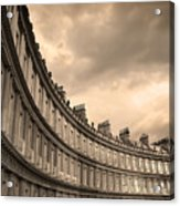 The Circus Bath England  Acrylic Print