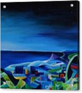 The City At The Sea Acrylic Print