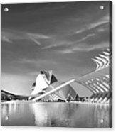 The City Of Arts And Science Acrylic Print
