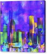 The City  Sydney Acrylic Print