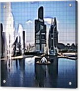 The City That Isn't Acrylic Print