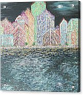 The City That Never Sleeps Acrylic Print