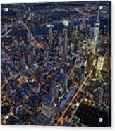 The City That Never Sleeps Acrylic Print