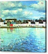 The Claddagh Galway Acrylic Print