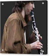 The Clarinet Player Acrylic Print