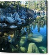 The Clarity Of Morning  Acrylic Print