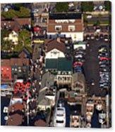 The Clarke Cook House Restaurant P.o. Box 249 Bannisters Wharf Newport Ri 02840 Acrylic Print by Duncan Pearson