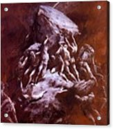 The Clash Of The Titans 1866 Acrylic Print