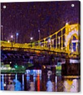 The Clemente Bridge Heading To The Northshore Acrylic Print