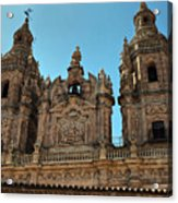 The Clerecia Church In Salamanca Acrylic Print