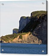 The Cliffs Of Forillon  Acrylic Print
