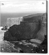 The Cliffs Of Mohar II - Ireland Acrylic Print by Mike McGlothlen