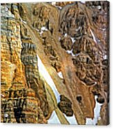 The Climb To Abbot's Hut - Paint Acrylic Print