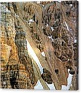 The Climb To Abbot's Hut Acrylic Print