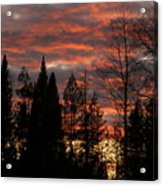 The Close Of Day Acrylic Print