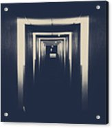 The Closed Doors Acrylic Print