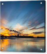 The Cloud Factory Acrylic Print