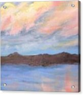 The Clouds Roll By Acrylic Print