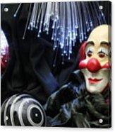 The Clown Acrylic Print