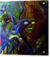 The Clutter Of Chaos Acrylic Print