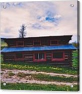 The Cockeyed Cabin Acrylic Print