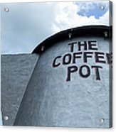 The Coffee Pot Up Close Acrylic Print