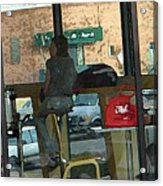 The Coffee Shop Acrylic Print