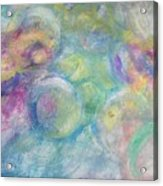 The Color Of Bubbles Acrylic Print