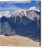 The Colorado Great Sand Dunes  125 Acrylic Print