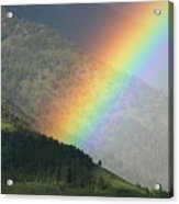 The Colors Of The Rainbow Acrylic Print