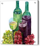 The Colors Of Wine Acrylic Print