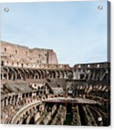 The Colosseum Colosseo Ruins Of The Gladiators Stadium Rome Italy Acrylic Print